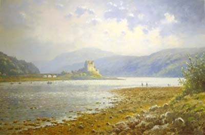 Eilean Donan Castle by James Preston -  sized 22x14 inches. Available from Whitewall Galleries